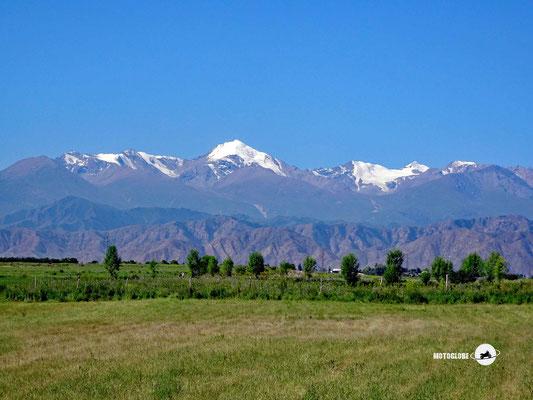 Das Tian Shan Gebirge