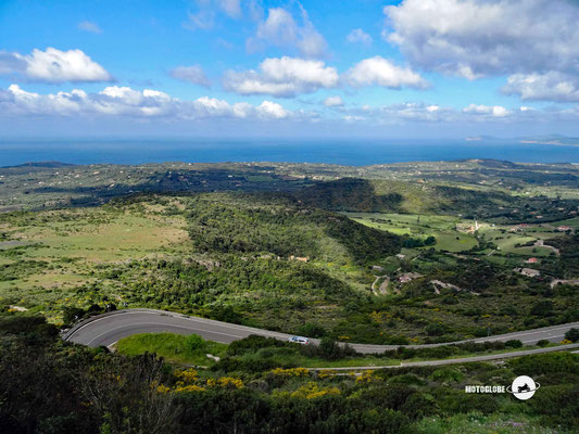 Es geht in die Hügel rund um Alghero