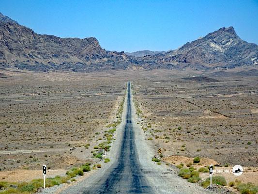 Auf dem Weg zum Chak Chak-Ardakan Zorastrian Schrein