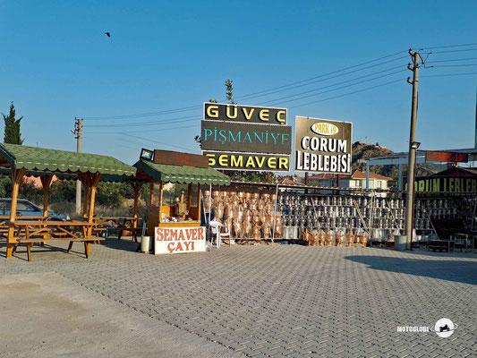 In der Provinz Corum und Ortschaft Osmancik wimmelt es von Leblebli Verkaufsständen