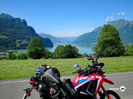 Brienzersee - Motorglobe Motorradtest Honda CRF300Rally