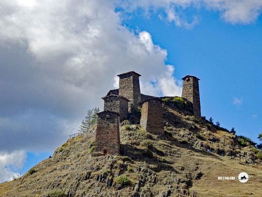 Die Festung Keselo in Omalo