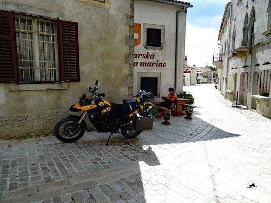 Unsere Unterkunt im alten Dorfteil von Gracisce