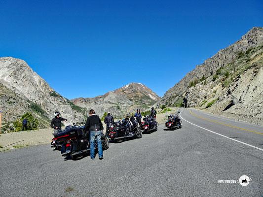 Auffahrt zum Tioga Pass auf 3'000 Meter