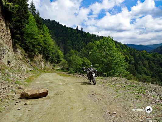 Hinauf in den kleine Kaukasus