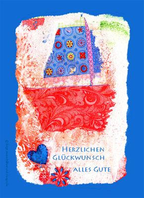 Eigenes Motiv für diverse Anwendungen zu verkaufen; Postkarten (blanko ab 5 St., in Kundenauftrag individuell bedruckt ab 250 St.) erhältlich