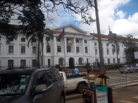 City Hall: Rathaus von Nairobi.