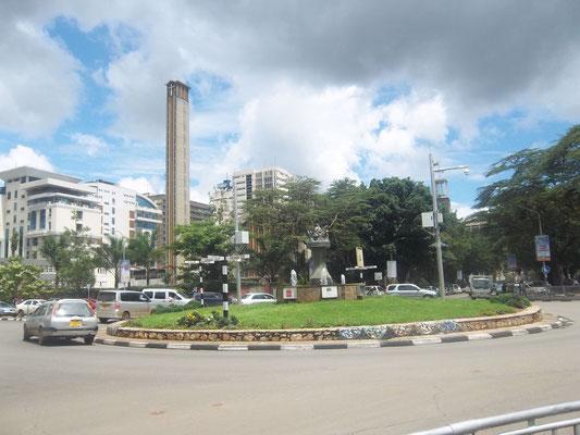 Nairobi Stadtzentrum