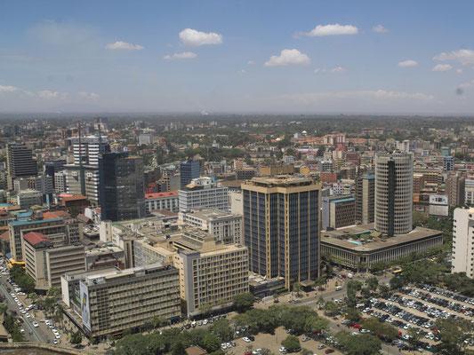 Aussicht vom KICC Tower