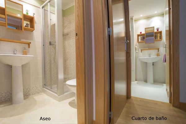 Aseo y cuarto de baño