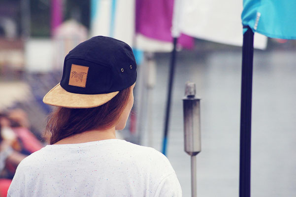 leather patch 5panel