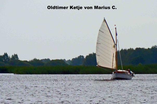 "Marius mit seiner ""Ketje"""