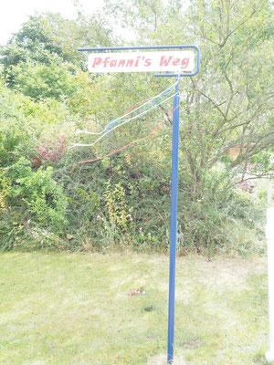Pfanni's Weg - Pfanni, einer der Hauptförderer der Tennissparte