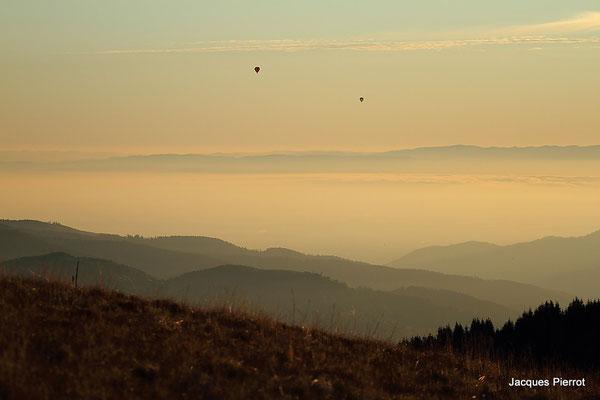 Le 15/10/2011  Ambiance matinal au Hohneck (Hautes Vosges)
