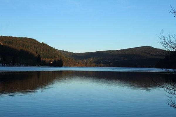 Dimanche 15 janvier 2012  Lac de Longemer  (Hautes Vosges )