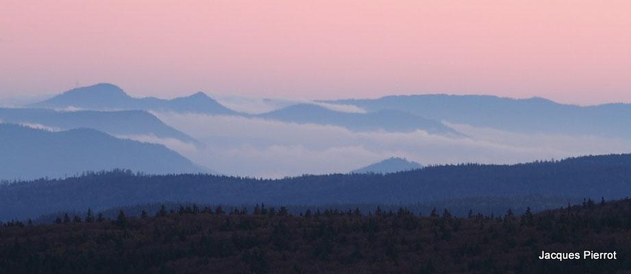 Samedi   15 octobre 2011.Mer de nuages au Hohneck (Hautes Vosges)