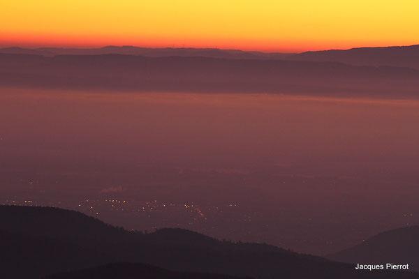 Samedi   15 octobre 2011.Les Alpes vu du Hohneck  (Hautes Vosges)