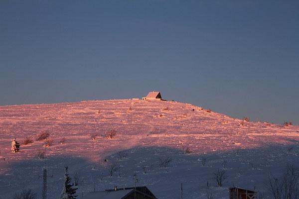 Le 15/01/2012  L e Hohneck  (Hautes Vosges )