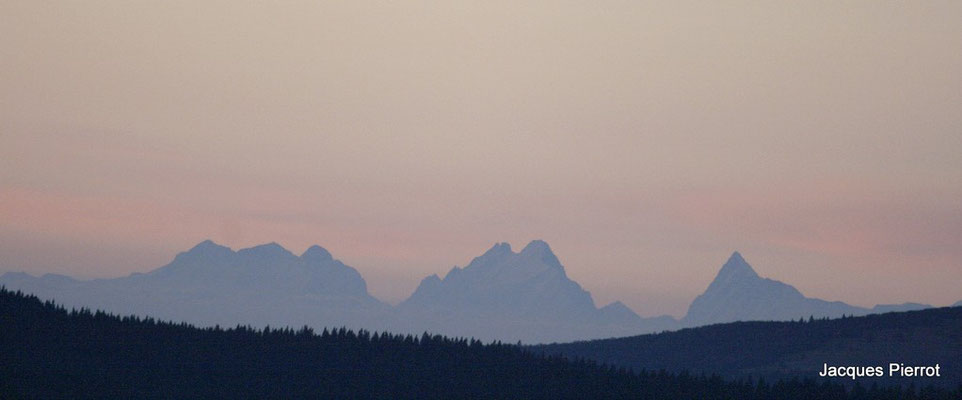 Le 15/10/2011  Les Alpes depuis le Hohneck  ( Hautes Vosges )