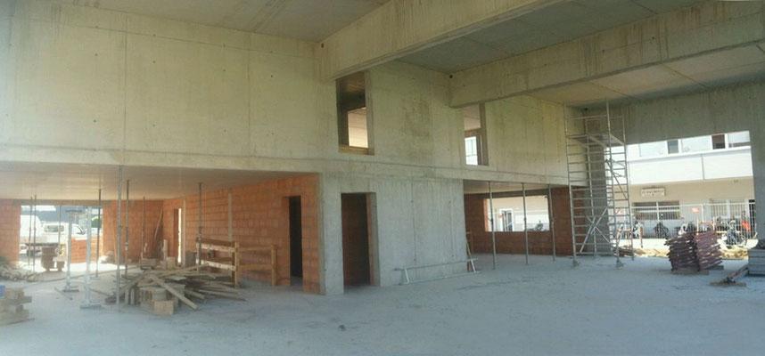 Gewerbebau Werkstatt und Wohnen Runa  ©2019 Welte Architetkur