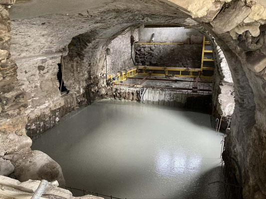 Gewölbekeller Kellersanierung Unterfangung