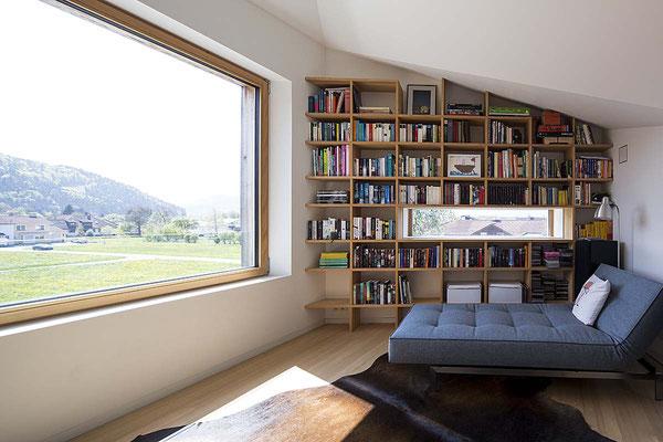 Lesezimmer mit Aussicht  ©2019 Welte Architetkur