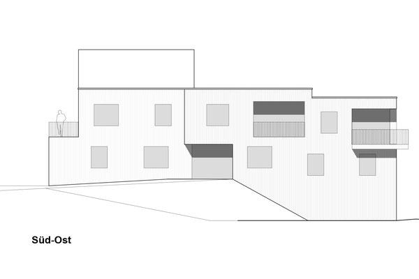 Generationenhaus Holzbau Oberfresch ©2019 Welte Architetkur