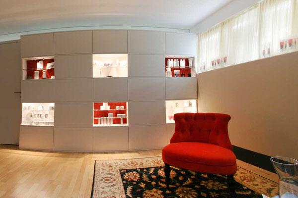 Kosmetikstudio Umbau Möbelplanung  ©2019 Welte Architetkur