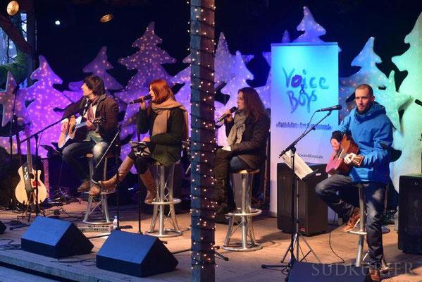 Triberger Weihnachtszauber 2016 - Auftritt auf der Naturbühne