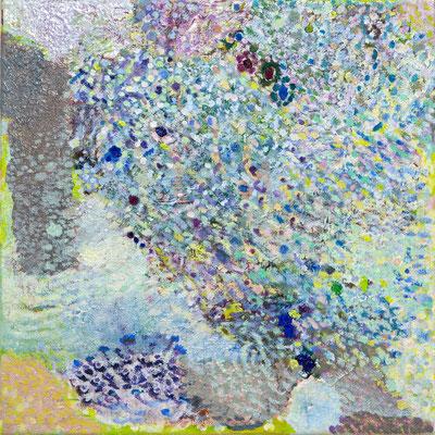 はる, 27.3x27.3 cm, oil on canvas