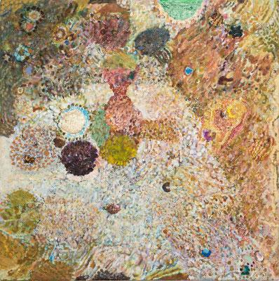 かすみ, 41x41 cm, oil on canvas