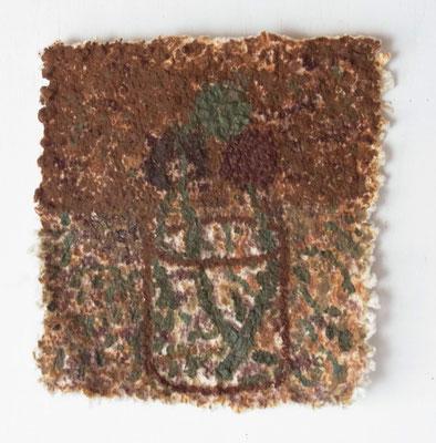 綿花,22x22 cm,oil on cotton