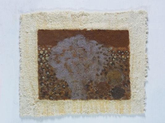 無題,25 x 30 cm,oil on cotton