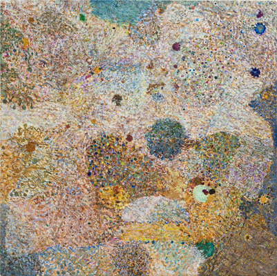 くものすきま, 53x53 cm, oil on canvas