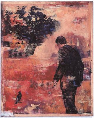 Und jetzt immer noch, 2003, Öl auf Leinwand, 100 x 80 cm