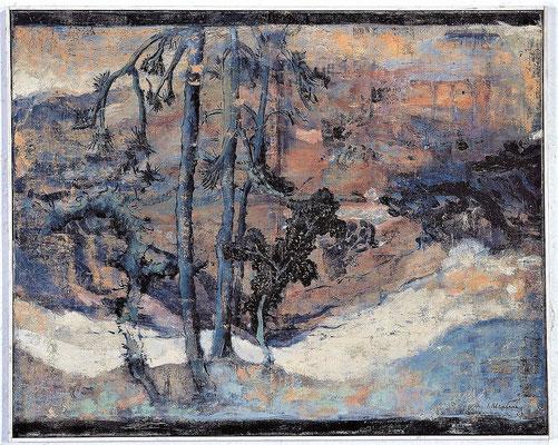Valverde, 2003, Öl auf Leinwand, 80 x 100 cm