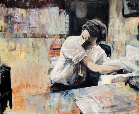 Glenn, 2010, Öl auf Leinwand, 90 x 110 cm