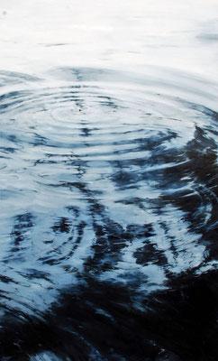 Circles No5., 2017, Öl auf Leinwand, 180 x 110 cm,