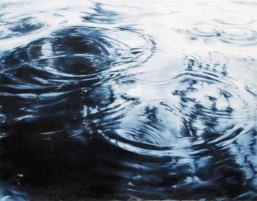 Circles No. 2, 2017, Öl auf Leinwand, 70 x 90 cm