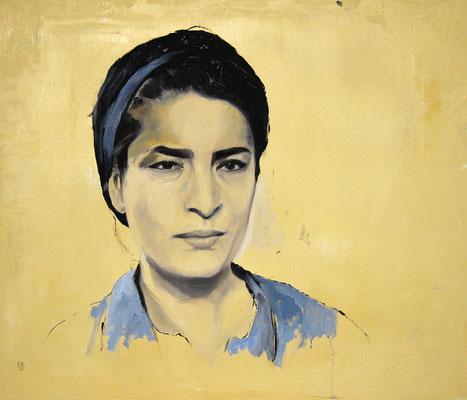 Begegnung, 2009, Öl auf Leinwand, 60 x 70 cm