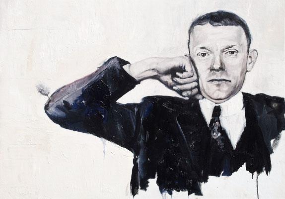 Valentin, 2015, Öl auf Leinwand, 50 x 70 cm,
