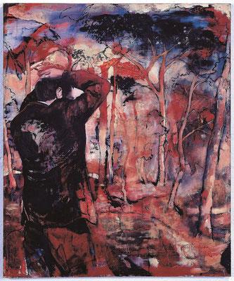 Der Augenblick, 2003, Öl auf Leinwand, 120 x 100cm
