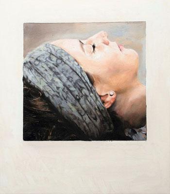 still, 2018,Öl auf MDF, 39 x 32 cm,