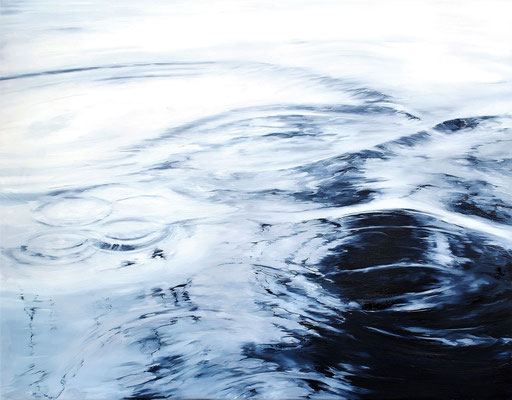 Circles No.7, 2017, Öl auf Leinwand, 70 x 90 cm