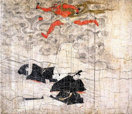 『北野天神縁起絵巻(弘安本)』(文化遺産オンライン)