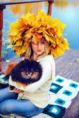 Буйство красок осенью