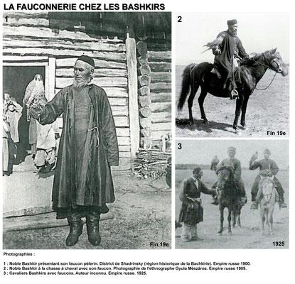 Fauconnerie chez les Bashkirs - Photographie 1909.