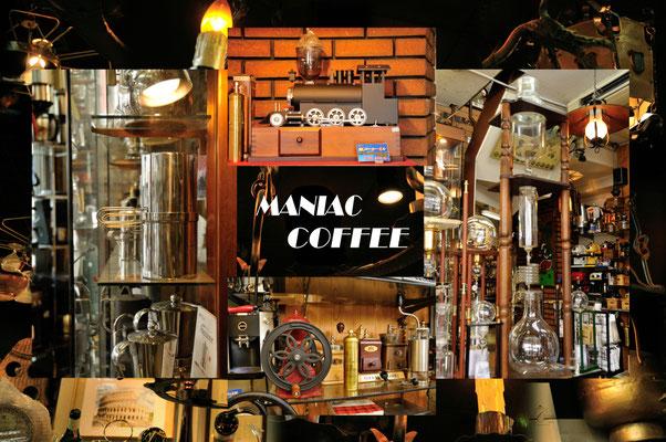 マニアックコーヒー  東京都道具街・コラージュです