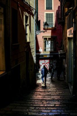 抜け道  第35回埼玉県写真サロン展【奨励賞】    スペインマジョルカ島