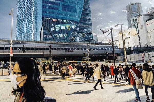 不安な街  第47回東京都写真展(東京の今)  【入選】 東京都